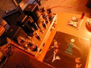 レコードと真空管アンプ